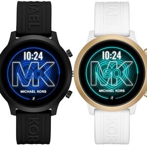 A Set of Michael Kors Couple Smartwatches
